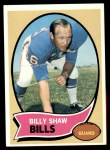 1970 Topps #229  Billy Shaw  Front Thumbnail
