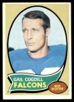 1970 Topps #183  Gail Cogdill  Front Thumbnail