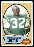 1970 Topps #128  Emerson Boozer  Front Thumbnail