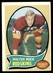 1970 Topps #218  Walter Rock  Front Thumbnail