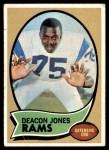 1970 Topps #125  Deacon  Jones  Front Thumbnail
