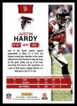 2016 Score #17  Justin Hardy  Back Thumbnail
