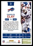 2016 Score #37  Charles Clay  Back Thumbnail