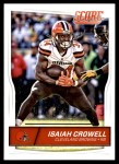 2016 Score #78  Isaiah Crowell  Front Thumbnail