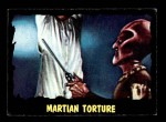 1964 Topps / Bubbles Inc Outer Limits #39   Martian Torture  Front Thumbnail