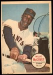 1967 Topps Pin-Ups #32  Willie McCovey  Front Thumbnail