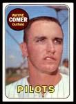 1969 Topps #346  Wayne Comer  Front Thumbnail