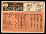 1966 Topps #367  Mel Nelson  Back Thumbnail
