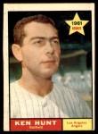 1961 Topps #156  Ken Hunt  Front Thumbnail