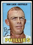 1967 Topps #376  Don Lock  Front Thumbnail