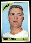 1966 Topps #313  Chris Zachary  Front Thumbnail