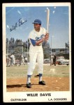 1961 Bell Brand Dodgers #3  Willie Davis     Front Thumbnail