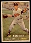 1957 Topps #354  Rip Coleman  Front Thumbnail