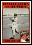 1972 Topps #343   -  Willie Stargell Boyhood Photo Front Thumbnail