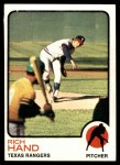 1973 Topps #398  Rich Hand  Front Thumbnail