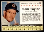 1961 Post #198 BOX Sam Taylor   Front Thumbnail