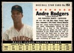 1961 Post #153 COM Andre Rodgers  Front Thumbnail