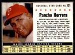 1961 Post #121 BOX Pancho Herrera   Front Thumbnail