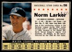 1961 Post #156 BOX Norm Larker   Front Thumbnail