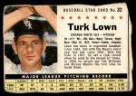 1961 Post Cereal #32  Turk Lown   Front Thumbnail