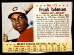 1963 Post #131 xSTR Frank Robinson  Front Thumbnail