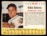 1963 Jello #66  Robin Roberts  Front Thumbnail