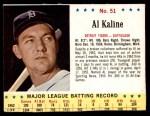 1963 Jello #51  Al Kaline  Front Thumbnail