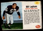 1962 Post #177  Bill Lapham  Front Thumbnail
