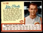 1962 Post #126  Jim O'Toole  Front Thumbnail