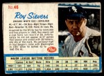 1962 Post #46  Roy Sievers   Front Thumbnail