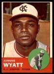 1963 Topps #376  John Wyatt  Front Thumbnail