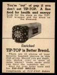 1947 Tip Top Bread  Pat Mullin  Back Thumbnail