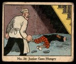 1931 Johnson Candy Dick Tracy R41 #28   Junior Goes Hungry Front Thumbnail