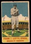 1933 DeLong Gum R333 #10  Lefty O'Doul  Front Thumbnail