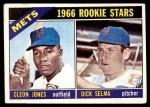 1966 Topps #67   -  Cleon Jones / Dick Selma Mets Rookies Front Thumbnail