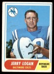 1968 Topps #47  Jerry Logan  Front Thumbnail