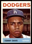 1964 Topps #180  Tommy Davis  Front Thumbnail