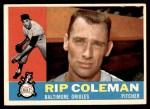 1960 Topps #179  Rip Coleman  Front Thumbnail