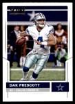 2017 Score #45  Dak Prescott  Front Thumbnail