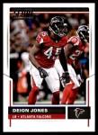 2017 Score #53  Deion Jones  Front Thumbnail