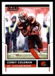2017 Score #201  Corey Coleman  Front Thumbnail