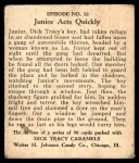 1931 Johnson Candy Dick Tracy R41 #32   The Doors Were Locked Back Thumbnail