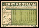 1977 O-Pee-Chee #26  Jerry Koosman  Back Thumbnail