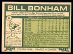 1977 O-Pee-Chee #95  Bill Bonham  Back Thumbnail