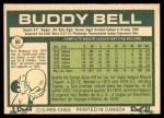 1977 O-Pee-Chee #86  Buddy Bell  Back Thumbnail