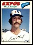 1977 O-Pee-Chee #243  Bill Greif  Front Thumbnail