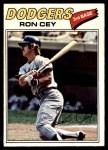 1977 O-Pee-Chee #199  Ron Cey  Front Thumbnail