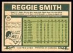 1977 O-Pee-Chee #223  Reggie Smith  Back Thumbnail