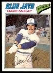 1977 O-Pee-Chee #40  Dave McKay  Front Thumbnail