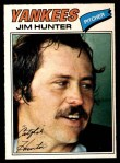 1977 O-Pee-Chee #10  Catfish Hunter  Front Thumbnail